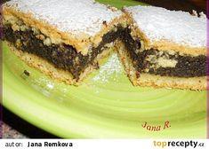 Makovinka recept - TopRecepty.cz Sandwiches, Poppy, Brownies, Heaven, Lemon, Cake Brownies, Sky, Heavens, Paninis