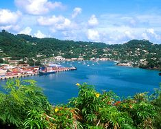 Grenada is also called the Spice Island, and it truly smells divine. Really pretty place.