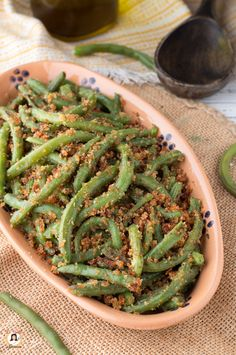 Best Italian Recipes, Green Beans, Buffet, Food And Drink, Pasta, Yummy Food, Healthy Recipes, Dinner, Vegetables