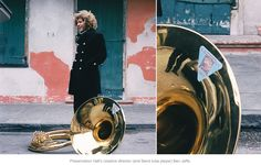 Preservation Hall's creative director (and band tuba player) Ben Jaffe.