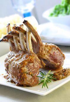 Carré d'agneau rôti: recette Carré d'agneau rôti, aftouch-cuisine