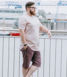 45 Tested Fashion Outfits for Heavy Men - Machovibes Outfits For Big Men, Cool Outfits, Male Fashion, Fashion Outfits, Beard Styles, Style Ideas, Nice Dresses, Husband, Sporty