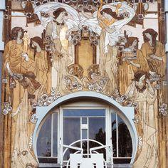 Casa Cauchie Bruselas Bélgica #Nouveau