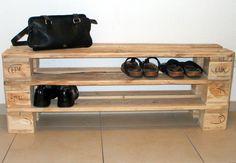 Schuhregal aus Paletten                                                                               Mehr