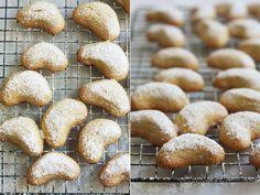 Kourabeides – Greek Almond Crescents | Cook Republic