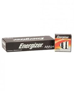 Energizer Battery Alkaline Max Power AAA 24 Box Keep your toys going and going! The Energizer Max four pack is the perfect topper to any collection. The AAA size batteries come in handy for teasers, minis, and most compact toys. Get your party started now!