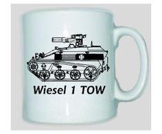 Tasse Wiesel 1 TOW / mehr Infos auf: www.Guntia-Militaria-Shop.de