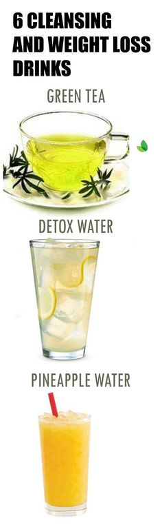 6 Cleansing and Weight Loss Drinks