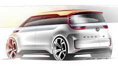 Volkswagen's All-Electric BUDD-e Concept Heading To Production