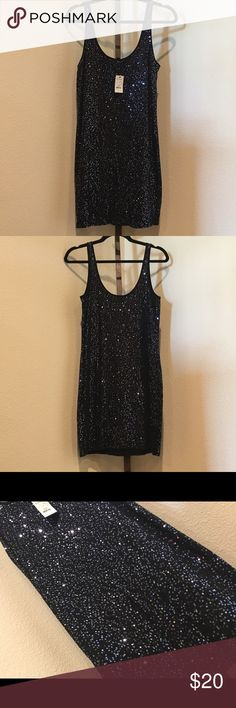 NWT Experess Sequin Tank Dress Haven't worn it... closet clean out! Lol Express Dresses