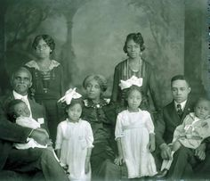 African American family photo