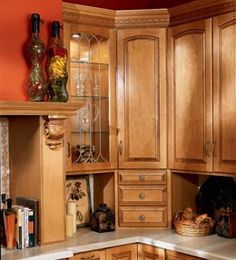 1000 Images About Kitchen Remodeling Ideas On Pinterest Corner Cabinets Corner Pantry