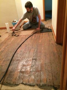 Removing Old Tar Paper And Glue From Hardwood Found Under