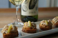 Canapé au homard parfumé à la noix de coco et à l'ananas #ToastSAQ
