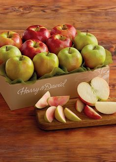 Apples for every occasion: red apples and green apples for that special someone.