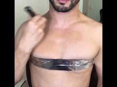 Dit is een youtube kanaal van een man die make-up turtorials doet