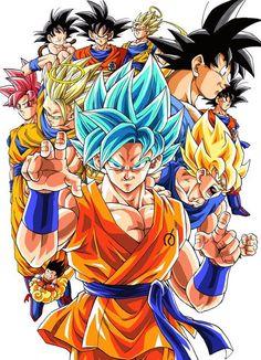 Browse Dragon Ball Super Goku collected by Abdo Spirit and make your own Anime album. Dragon Ball Gt, Dragon Ball Z Shirt, Akira, Goku Transformations, Anime Echii, Anime Nerd, Manga Dragon, Goku Super, Anime Costumes