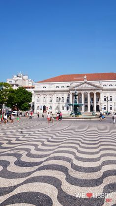 National theatre D. Maria at Rossio Square