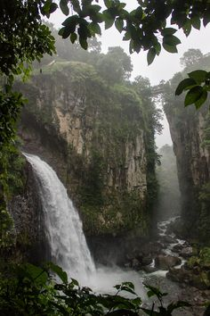 Cascada de Texolo   near the town of Xico, Veracruz, Mexico