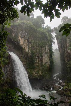 Cascada de Texolo   near the town of Xico, Veracruz, Mexico