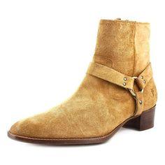 Women's Frye 'Dara' Harness Boot, Size 7 M - Brown, Beige