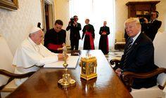 Así Estuvo La Reunión Entre El Papa Francisco Y Donald Trump