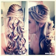 Click the photo for more cool prom hairstyle ideas