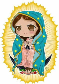 Catholic Religious Education, Religious Art, Mexico Wallpaper, Belly Dancer Costumes, Christmas Calendar, Mary And Jesus, Mary Tattoo, Blessed Mother, Felt Toys