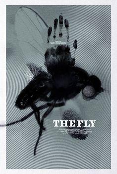 The Fly alternative movie poster от TheArtOfAdamJuresko на Etsy
