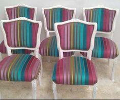 Silla Luis Xv Antiguas Restauradas A Nuevo.tapizado Tachas - $ 6.000,00