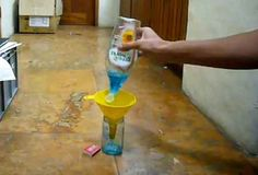 Cohete de Alcohol muy fácil de hacer