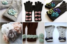 Pretty Fingerless Gloves - DIY