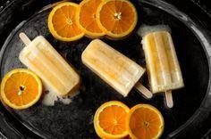 Orange Julius Popsicle Recipe