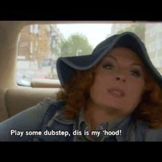 Play some dubstep, dis my 'hood! British Sitcoms, British Comedy, Absolutely Fabulous Quotes, Edina Monsoon, Patsy And Edina, Jumpin' Jack Flash, Ab Fab, Latest Gossip, Bbc America