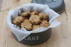 biscuits au beurre de cacahuètes et pépites de chocolat blog chez requia cuisine et confidences
