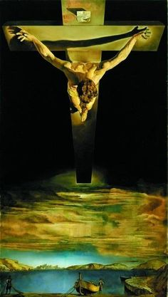 Do a reproduction of Jesus on the cross and put together a Salvador Dali puzzle at the same time. Christ of Saint John has 1000 pieces and is made by Ricordi.