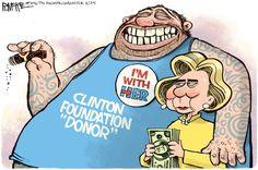 Presumptuous Politics: clinton foundation cartoons