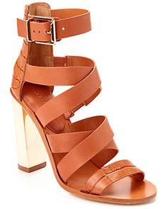 "BCBGMAXAZRIA ""East"" Leather Sandal https://www.ruelala.com/invite/blu_bullock"