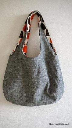 Making reversible bag - tutorial