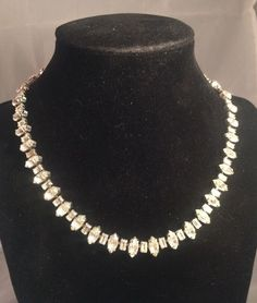 Rhinestone Choker Necklace By The Icing Vintage Style Nwt Msrp $98 Wedding #Choker