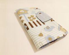 Porta celular em tecido com estrutura em manta resinada