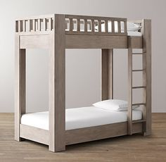 RH Babychilds Callum Platform Twin Over Bunk Bed