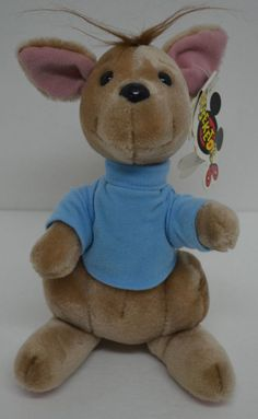 "Walt Disney World Mouseketoys Roo Kangaroo Plush Stuffed Winnie Pooh 9"" Tags #Disney http://stores.ebay.com/Lost-Loves-Toy-Chest/_i.html?image2.x=0&image2.y=0&_nkw=disney"