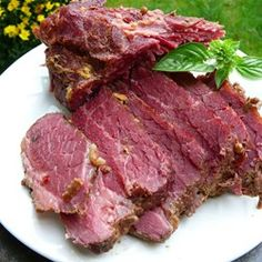 """Apple and Brown Sugar Corned Beef  """"I make this every year for my family on St. Patrick's Day. Delicious and filling!"""""""