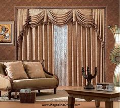 Amazing Mansion Interior Design Inspiring Ideas With Fancy Curtain