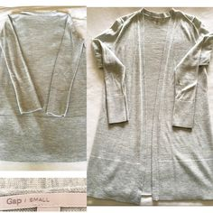 "Gap Midi Sweater EUC- worn twice, super versatile. 32in body length & 19in arm length. Fabrics include Nylon, Wool & Spandex. Nice light casual sweater. Perfect for a bundle option with jeans still up for grabs :) friendly reminder - bundle great choice but cannot utilize ""offer""- via PM. GAP Sweaters Cardigans"