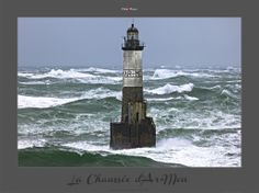 Le phare d'Ar-Men dans la chaussée de Sein - Finistère - Bretagne