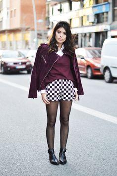 Tendencias primavera-verano 2013: damero #moda #tendencias