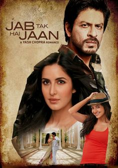"""""""Jab Tak Hai Jaan,"""" (2012) - a brilliant bollywood film, very dramatic! This film tells the story of Akira Rai who finds the diary of a bomb-disposal expert, Samar Anand, which recounts his days as a struggling immigrant in London, and his romance with Meera Thapar. (Starring Shahrukh Khan, Katrina Kaif and Anushka Sharma.)"""