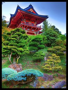 Japanese Tea Garden.